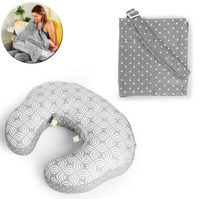 Plenti Nursing Pillow Nursing Cover Moon Crest