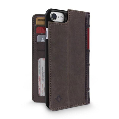 Twelve South Book Book Wallet Case For iPhone 8/7/6s - Brown