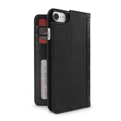 Twelve South Book Book Wallet Case For iPhone 8/7/6s - Black