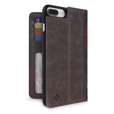 Twelve South Book Book Wallet Case For iPhone 8/7/6s Plus - Brown