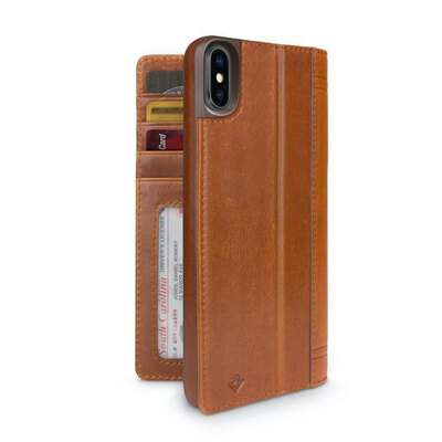 Twelve South Journal For iPhone Xs Max - Cognac