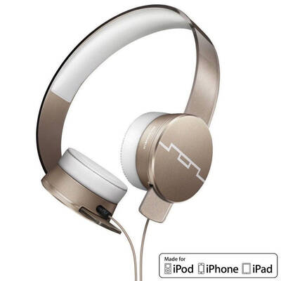 Tracks HD2 High Definition Headphones w/ Mic - Rose Gold