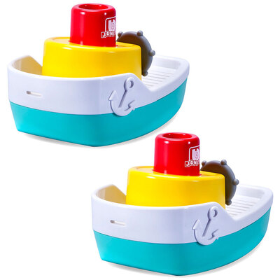 2PK BB Junior Splash N Play Spraying Tugboat