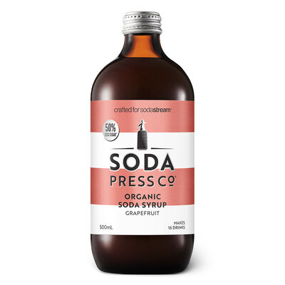Soda Press Co Syrup 500ml - Pink Grapefruit