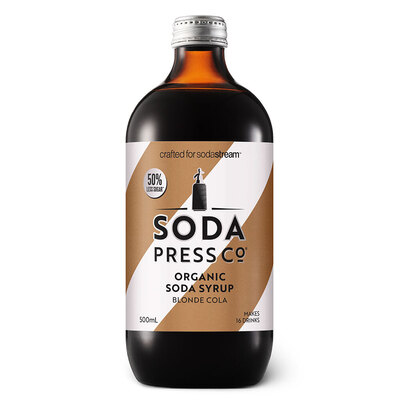 Soda Press Co Syrup 500ml - Blonde Cola