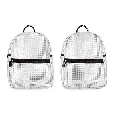 2PK Urban Status Junior Neoprene Backpack - Silver