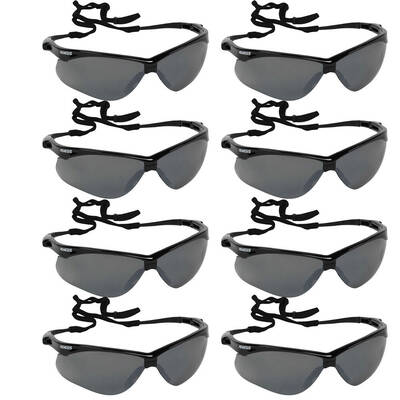 8PK Jackson Safety Glasses V30 Nemesis Eye Protection