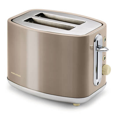 Morphy Richards 220003 Elipta Barley Stainless Steel 2 Slice Toaster Classic