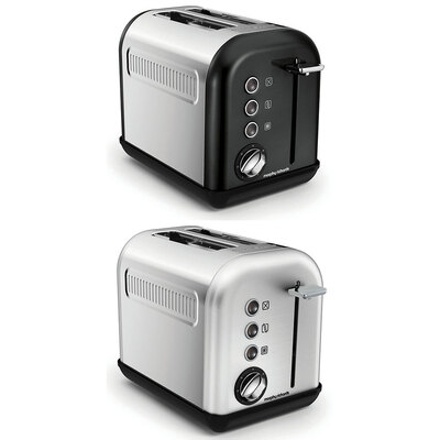 Morphy Richards 850W Equip 2 Slice Toaster Stainless Steel