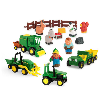 John Deere 24pc Fun On The Farm Playset
