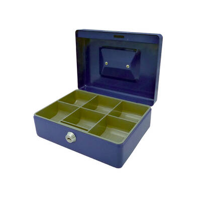 Esselte Classic Cash Box No.8 - Blue