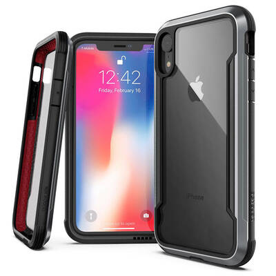 X-Doria Defense Shield Dropshield iPhone XR Black