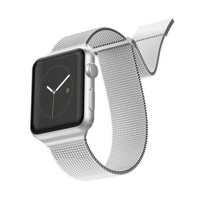 X-Doria Mesh Band f/ Apple iWatch 40 & 38mm - Silver