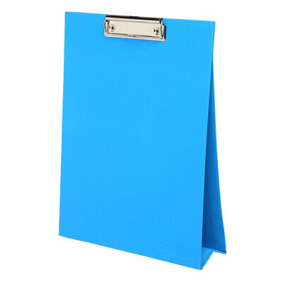 ColourHide A4 Stand Up Clipboard / Whiteboard - Blue