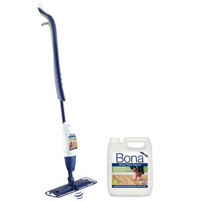Bona Timber Wood Floor Mop Kit w/ 2.5L Wood Floor Cleaner