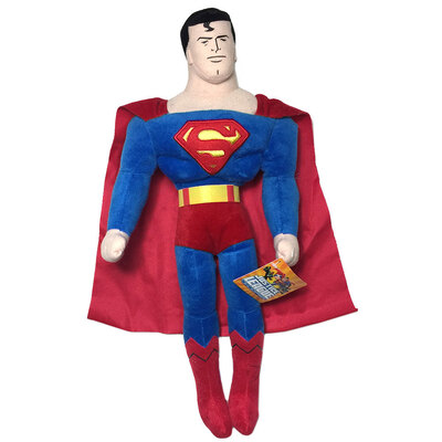 DC Comics 27cm Superman/Superheroes Soft Plush/Stuff Toy for Kids/Baby Gift