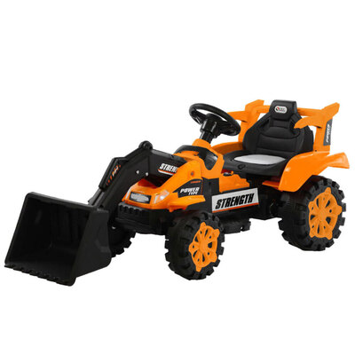 Lenoxx Ride On Front Loader - Orange