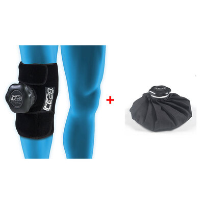 "Ice Therapy Ice 20 Single Knee w/ 11"" Ice Bag"