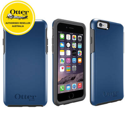 Blue Otterbox Symmetry Heavy Duty Protective Cover/Case for iPhone 6/iPhone 6s