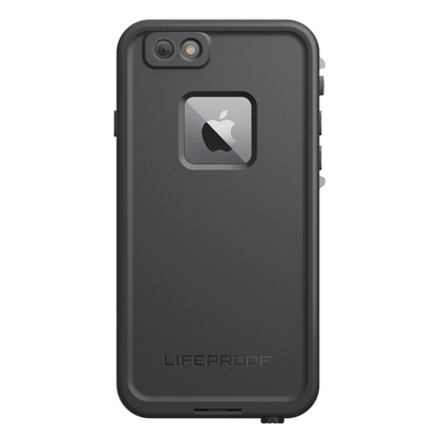 Black Lifeproof Fre Tough Case Cover Waterproof Shockproof for iPhone 6+/6s Plus