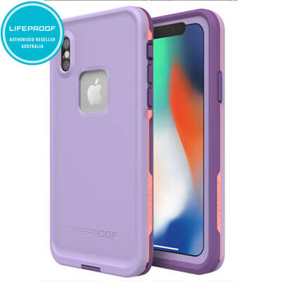 Lifeproof Fre Lilac/Rose Waterproof Case for iPhone X