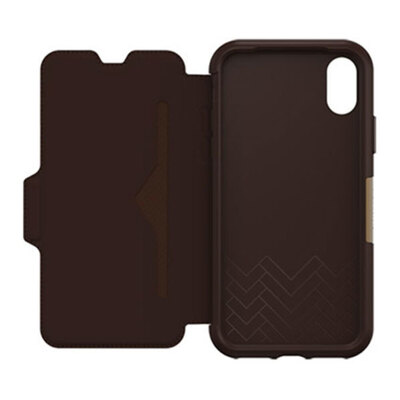 Otterbox Brown Strada Folio Case for iPhone X