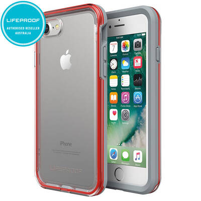 Lifeproof Slam Case for iPhone 7/8 Cherry/Grey