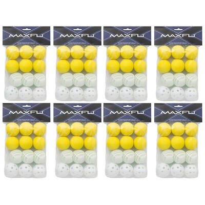 96PC Maxfli Mixed Practice Golf EVA/Air/Waffle Balls