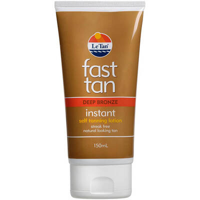 Le Tan Fast Tanning Lotion Deep Bronze 150ml