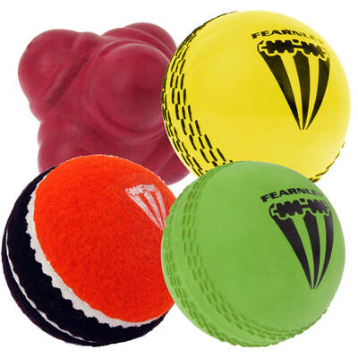 4 Pack Fearnley One Dayer Cricket Balls