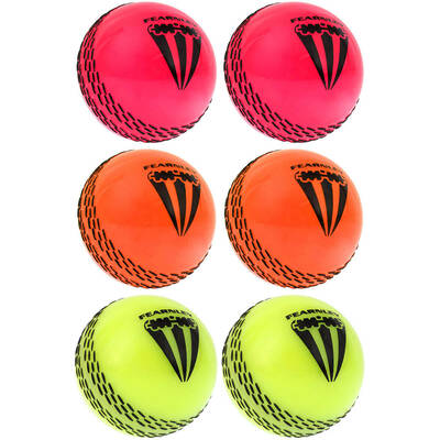 Summit 6 Pack Fearnley One Dayer Cricket Balls