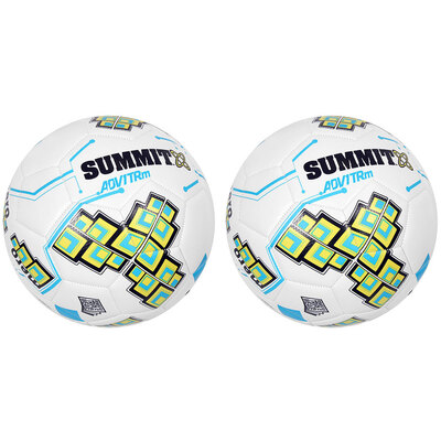 2PK Summit ADV1 Size 4 Trainer Soccer Ball White