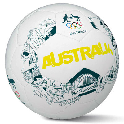Summit Iconic Australia Size 5 Soccer Ball