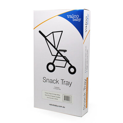 Valco Baby Snack tray for Snap/Snap4/Snap Ultra/Neo Plus/Spark Models