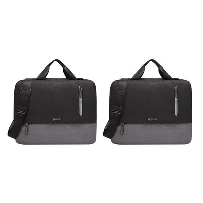 "2PK Moki Odyssey Satchel Bag Fits up to 15.6"" Laptop"