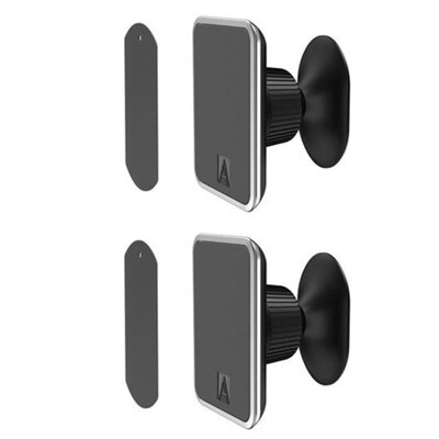 2PK Aerpro Magmate Pro Super Strong Magnetic Car Dash Mount f/Phones
