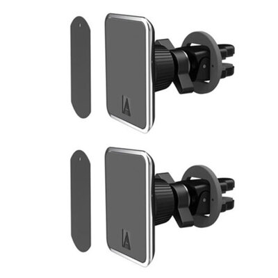2PK Aerpro Magmate Pro Super Strong Magnetic Car Vent Mount f/Phones