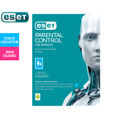 ESET Parental Control For Android Devices 1-Year Software Download