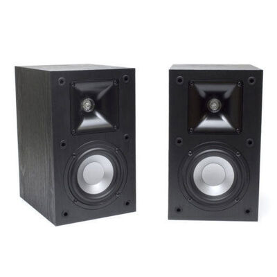 Klipsch B-10 Pair Bookshelf Stereo Speaker for Home Theatre/Surround Sound/Music