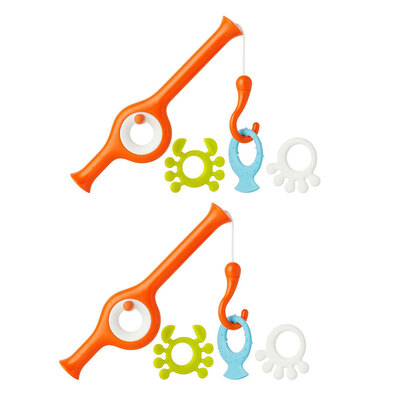 2PK Cast Finishing Pole Bath Toy - 18m+