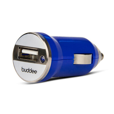 Buddee Blue Universal USB Car Charger