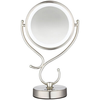 Conair CBE127A Double Sided LED Lighted Light Mirror Magnification/Beauty/Makeup
