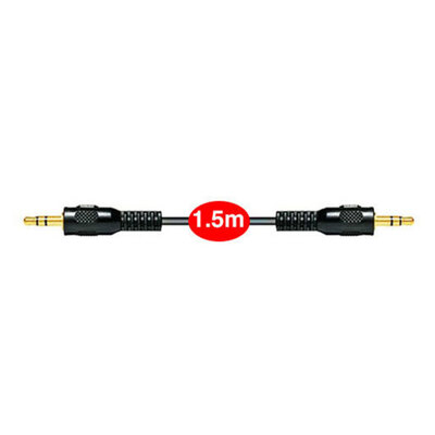 1.5m Aux Gold Plated Cable 3.5Mm Male To Male