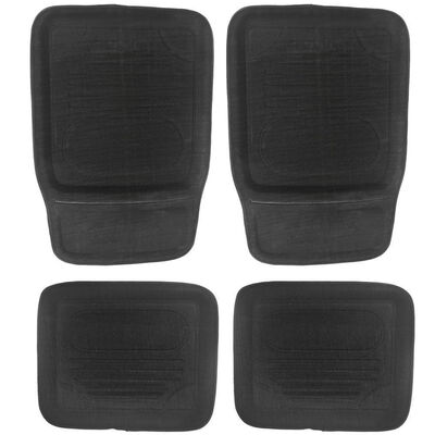 Universal Car Floor Mats Black