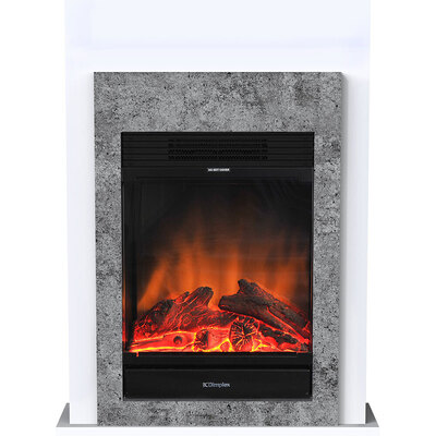 Conner 1.5W Mini Suite LED Firebox Fireplace