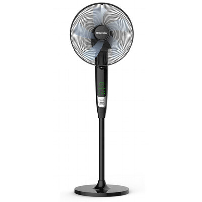 Dimplex 40cm Multi Directional Pedestal Fan - Black Finish