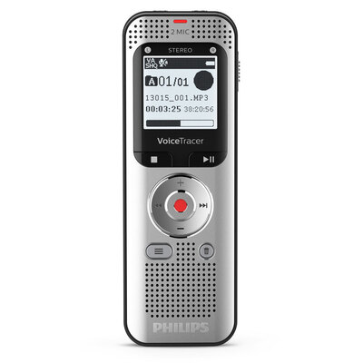 Philips 2 MIC Stereo 8GB In-Built Battery FM Radio