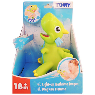 Tomy Light It Up Bath Time Dragon  - 18m+
