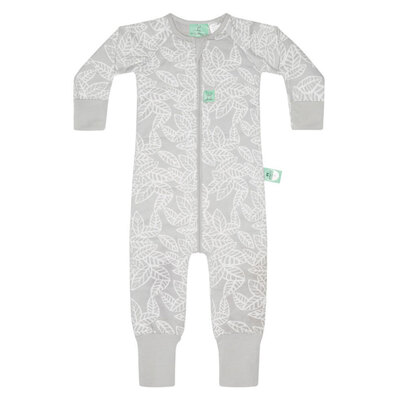 ErgoPouch Winter Onesie 2.5TOG 6-12m - Rainforest Leaves