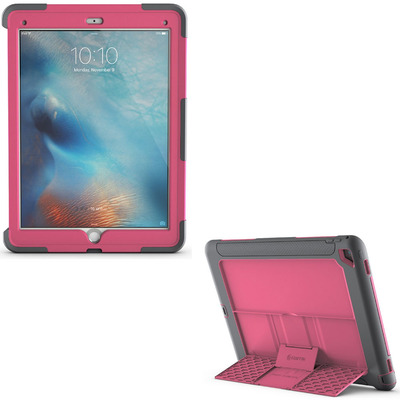 Pink Griffin Survivor Slim Case for iPad Pro Cover Stand
